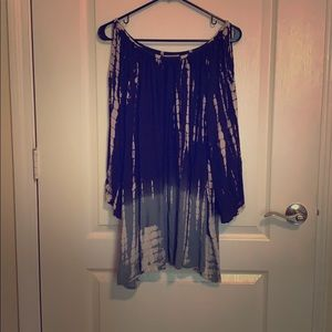 Cute blue tie dye dress!